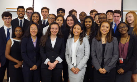 Smith School Program Teaches High-Schoolers How to Solve Real World Problems